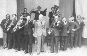 Valentin Parnakh's jazz band