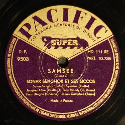 Sonar Senghor et ses Siccos – Samsee
