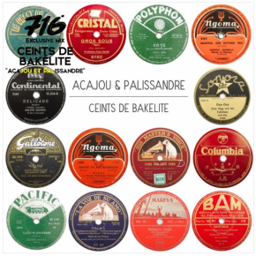 Acajou et Palissandre: guitar, ukulele and cavaquinho on 78 rpm records